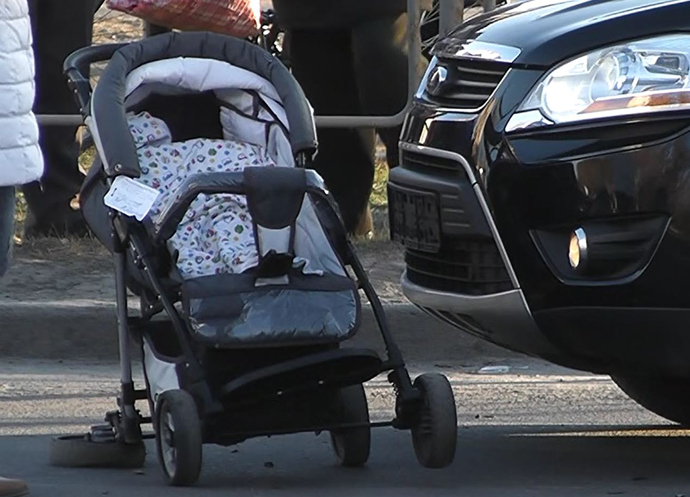 ВДТП пострадали две женщины сколясками