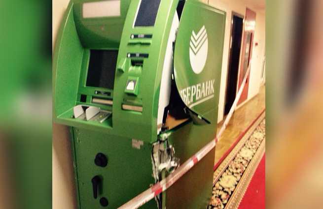 Вобластной клинике связали охранника ивынесли банкомат