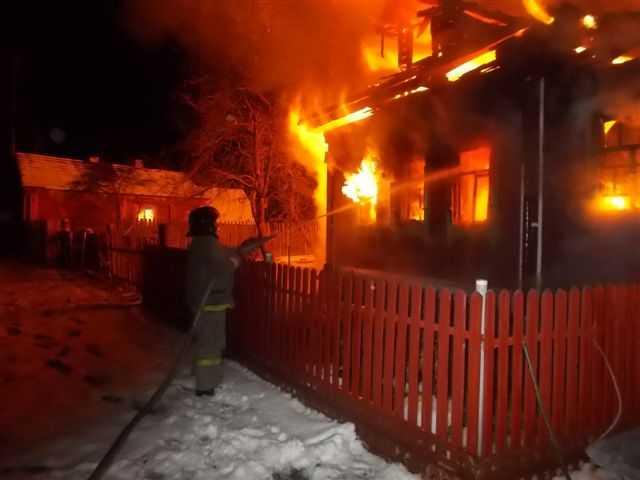 ВКамешковском районе сгорела 5-летняя девочка