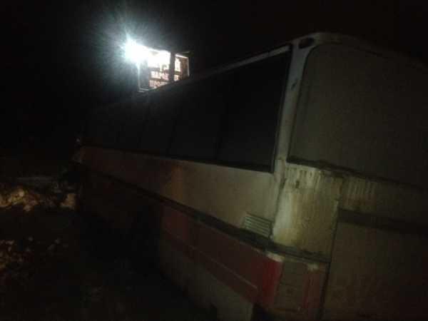 4 человека пострадали при столкновении пассажирского автобуса и грузового автомобиля воВладимире