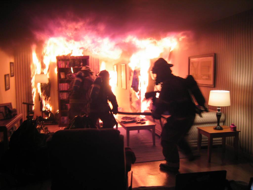 Вмикрорайоне Энергетик воВладимире врезультате пожара погибли две пенсионерки