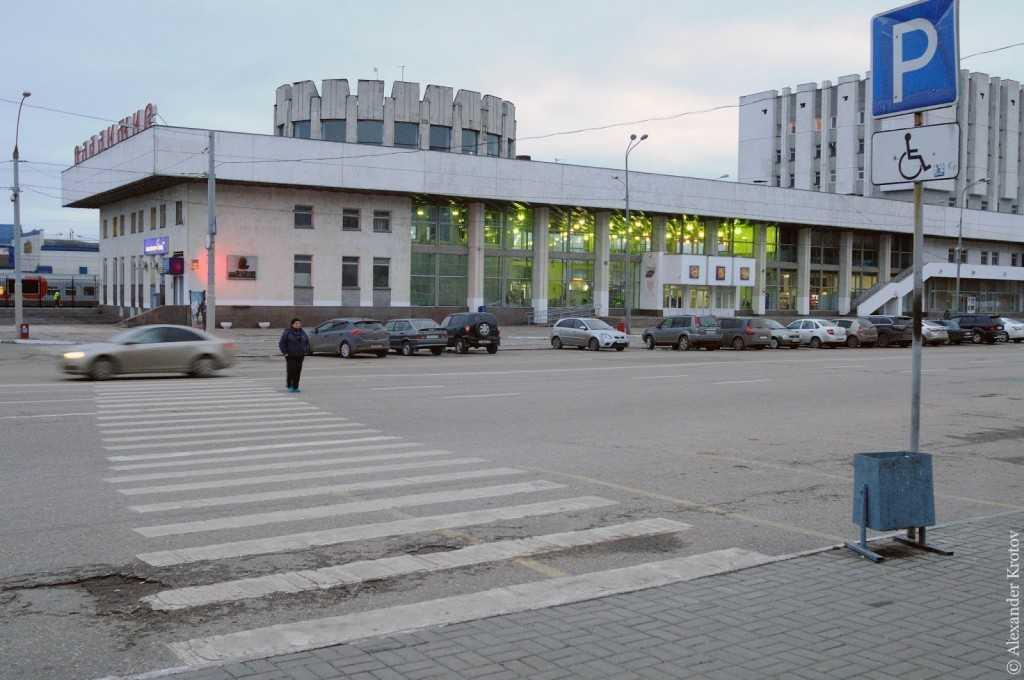 Так выглядит Вокзальная площадь сейчас.