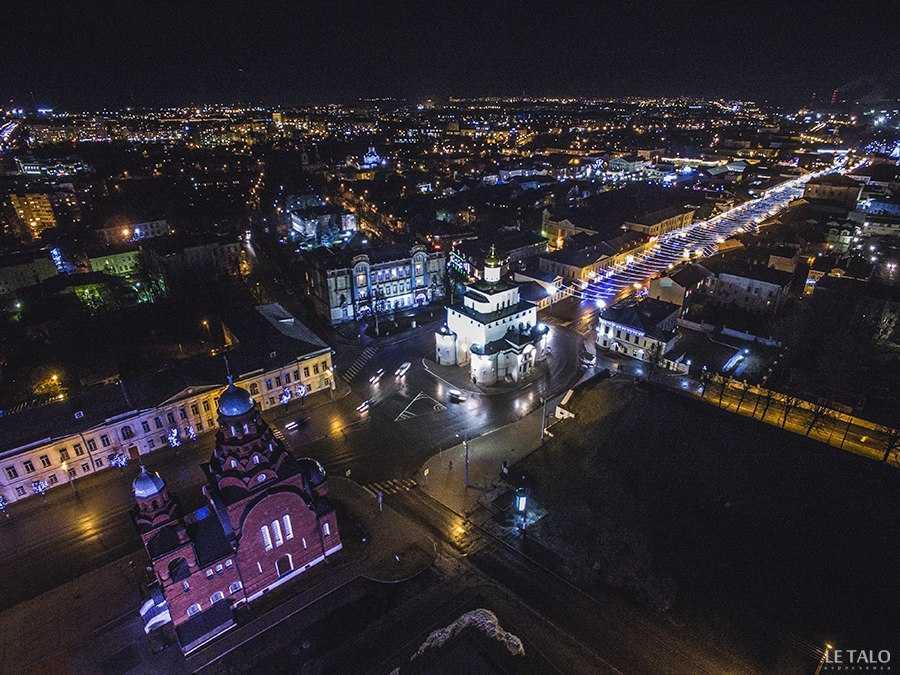 город владимир ночью фото старая уточка хранится