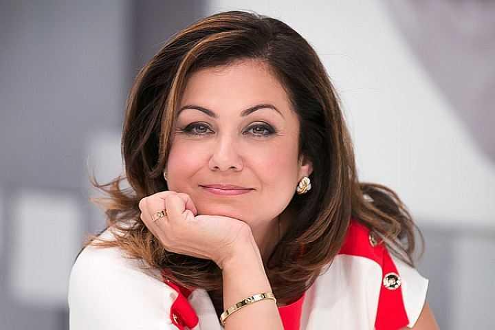 """Мария Салуцкая - учредитель Бюро Парад, председатель Оргкомитета """"50 плюс""""."""