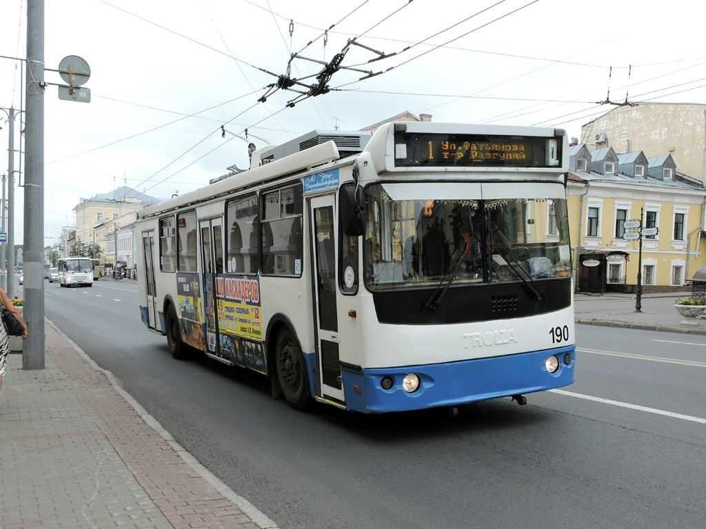 Общественный транспорт во Владимире