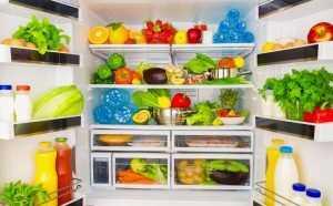 Холодильник с правильной едой