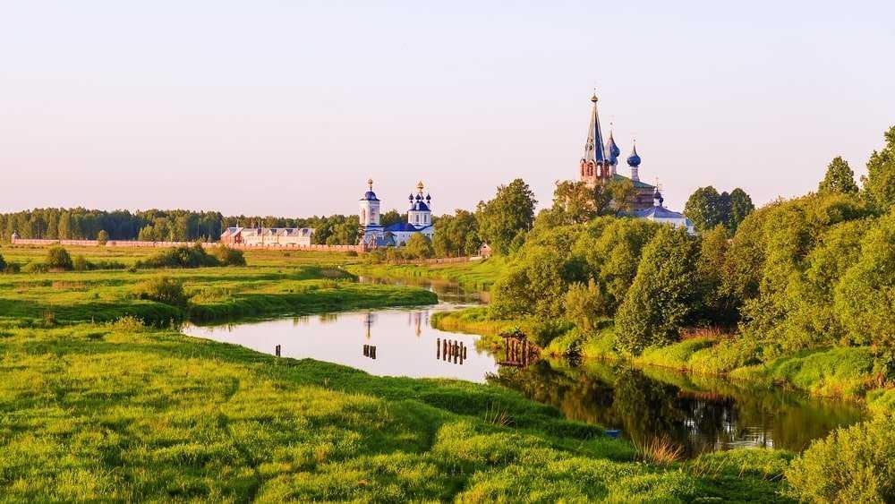 российская деревня