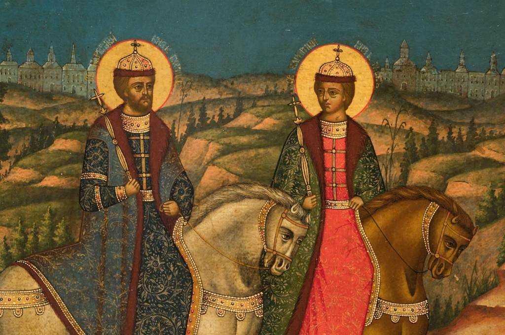 Убиение благоверного князя Глеба, во святом Крещении Давида