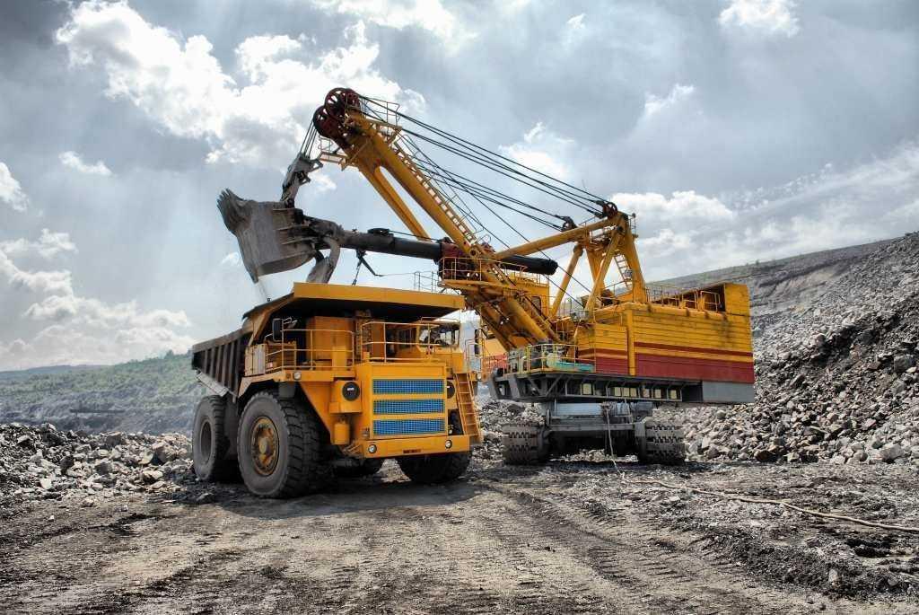 Добыча ископаемых в России