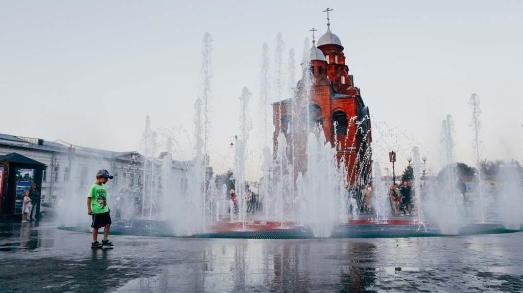 Небывалая жара в городе Владимир и по области в сентябре