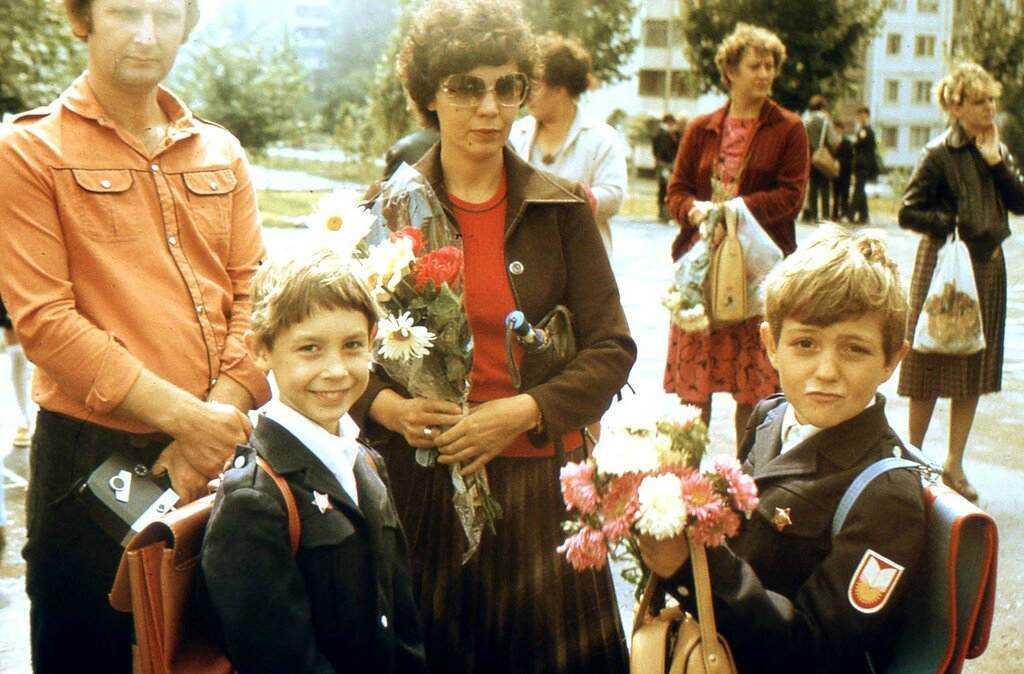 Родители в советское время