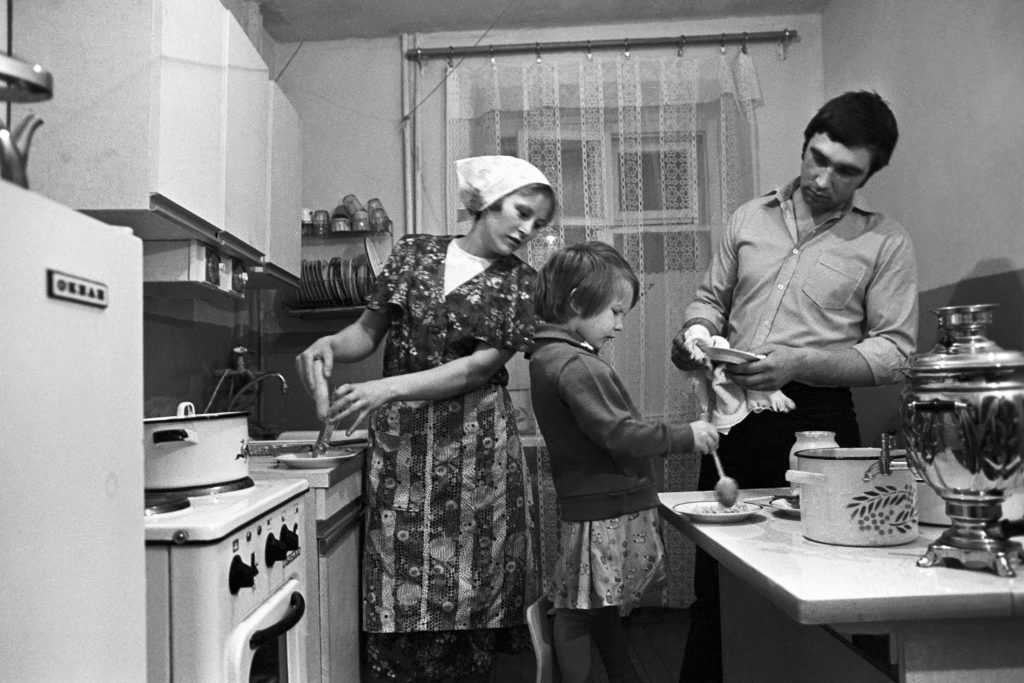 Семья в советское время