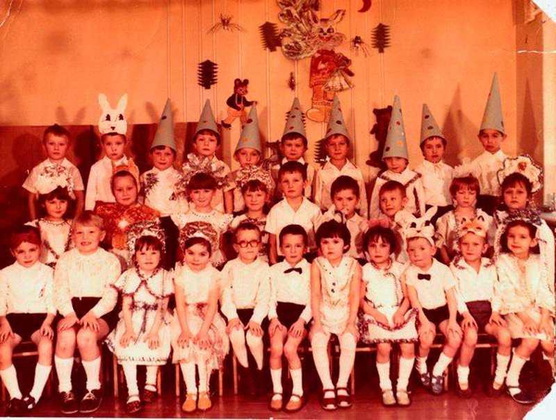 Детские сады от СССР