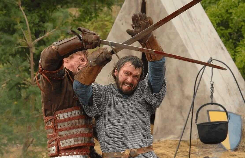 русский бой на мечах