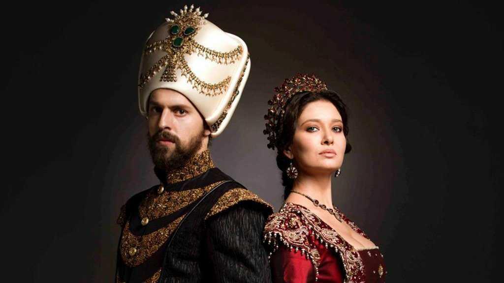 Султан с наложницей