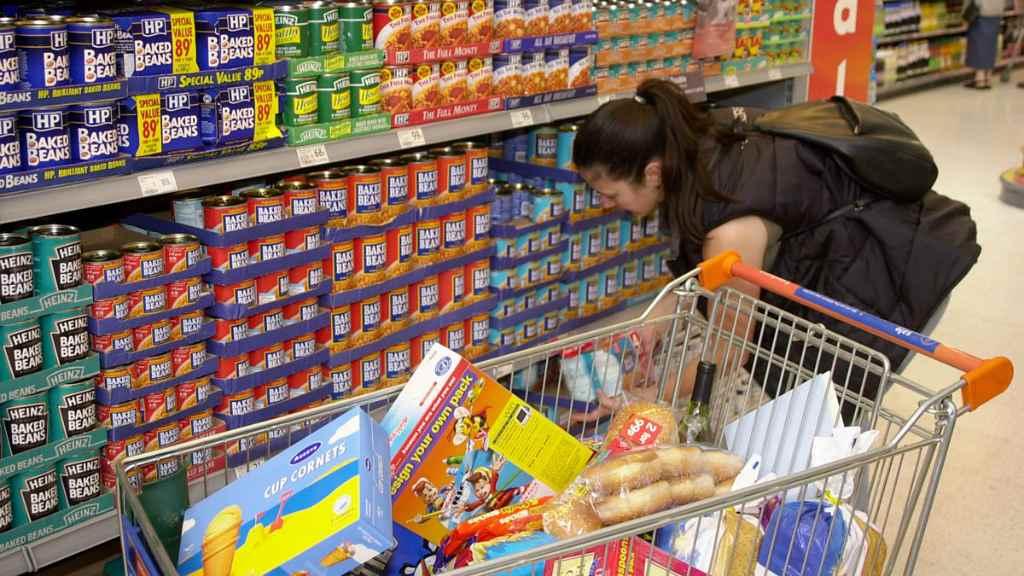 Покупки в супермаркете
