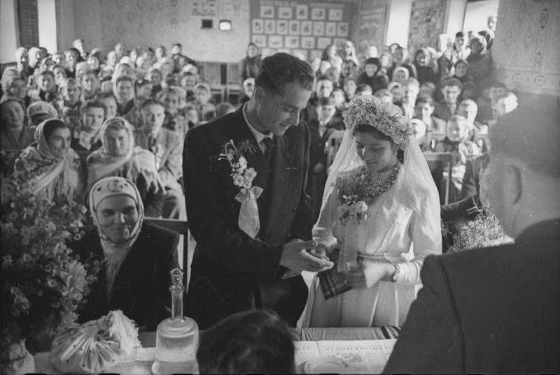 Свадьба в Советское время