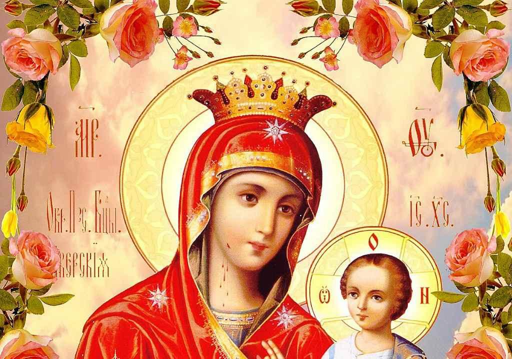 Икона Матери Божьей