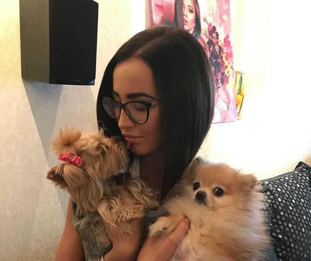 Ольга Бузова с питомцами