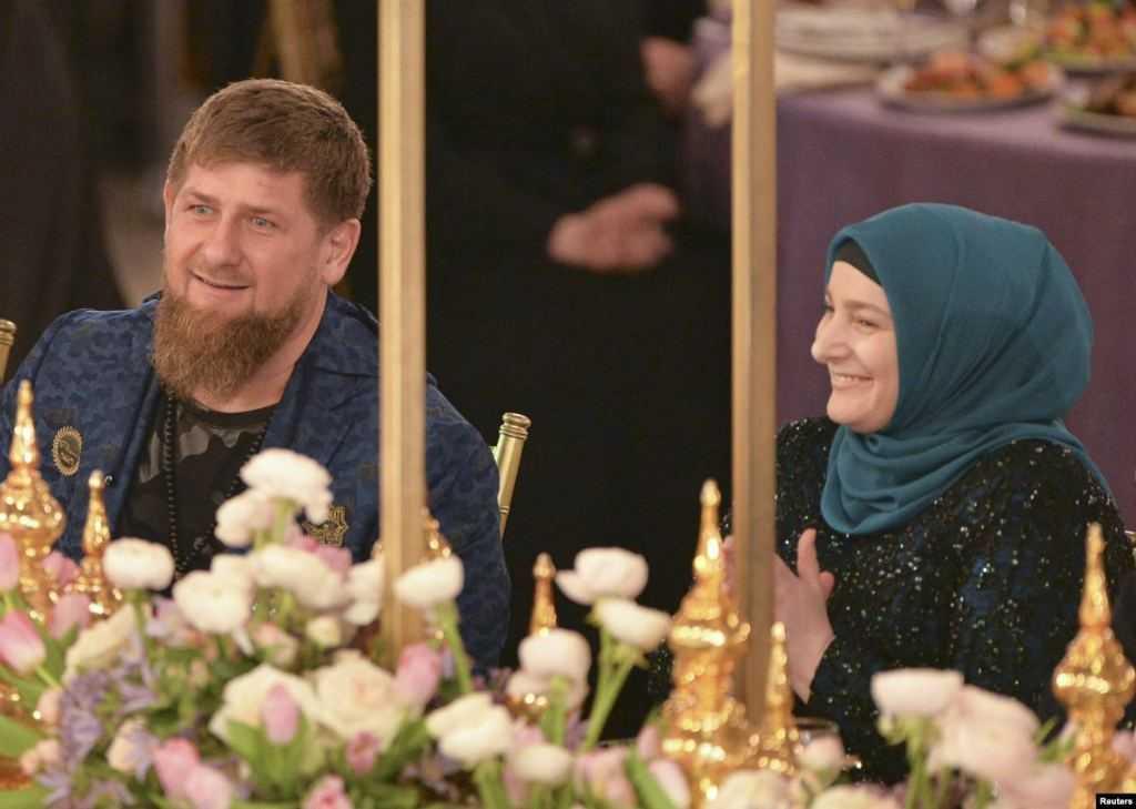 Рамазан Кадыров и его жена