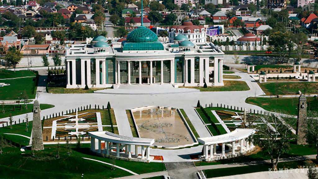 дворец чеченского президента