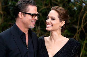 Бред Пит и Анженина Джоли