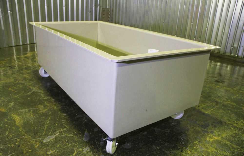 Ванна на колесиках