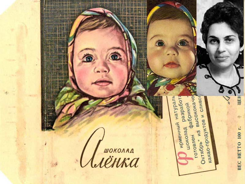 Шоколад «Аленка» — Елена Геринас