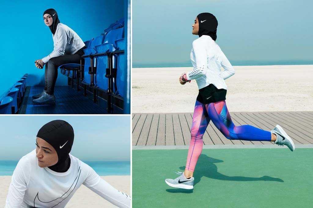 Реакция общественности на Хиджаб от Nike
