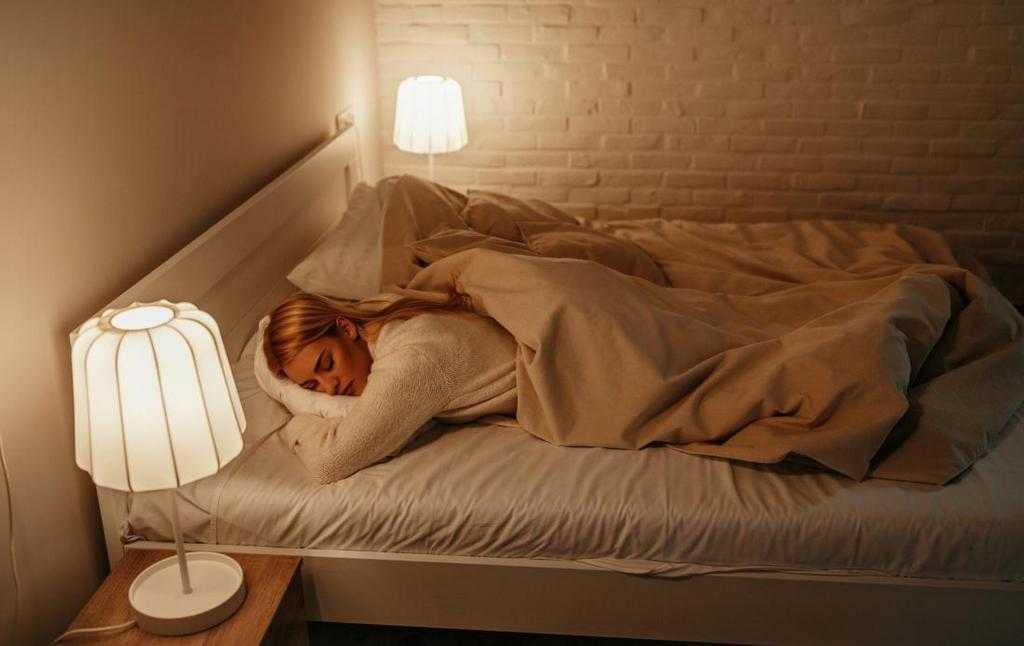 Сон с включенным светом