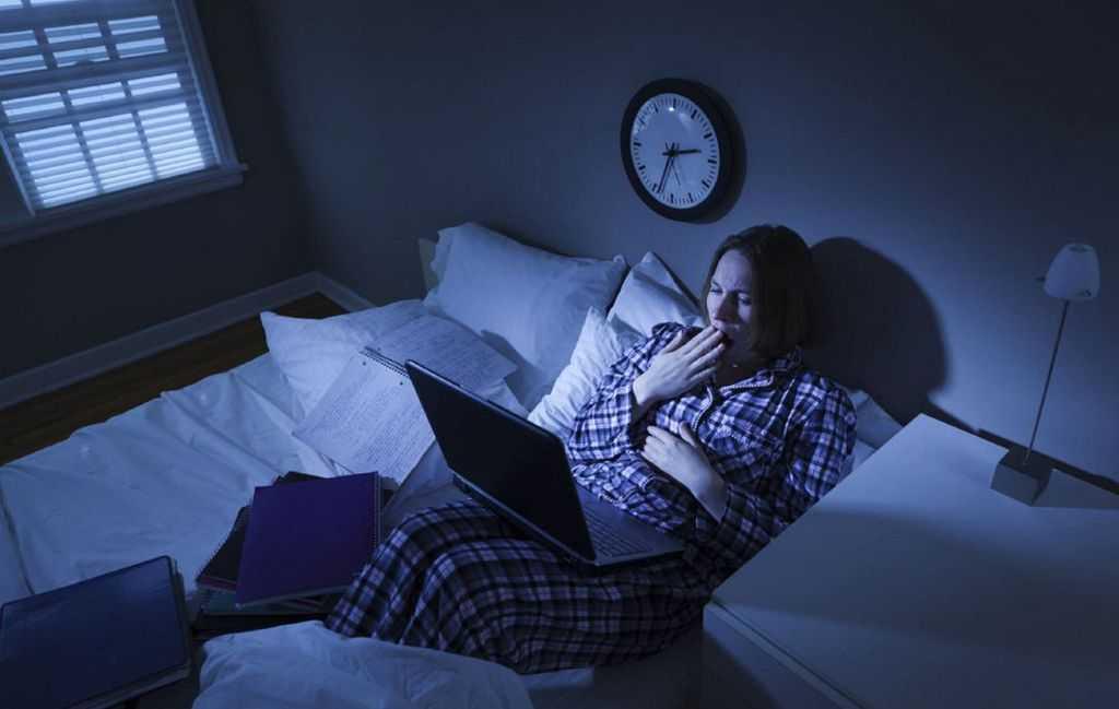 Просмотр телевизора перед сном