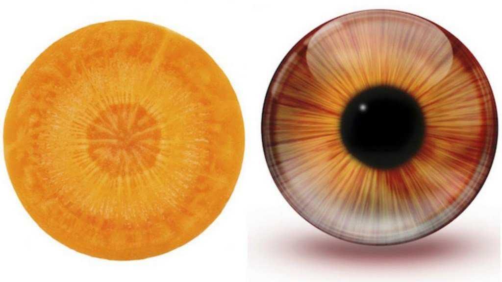 Морковь и глаза