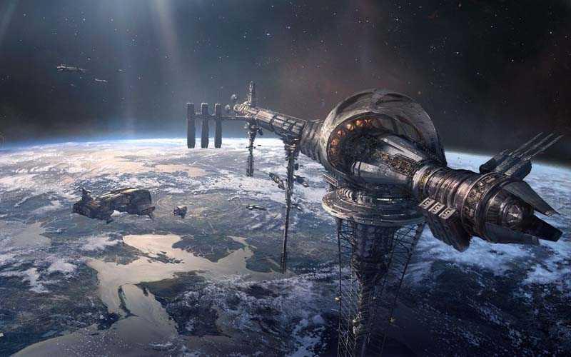 как работает космический лифт
