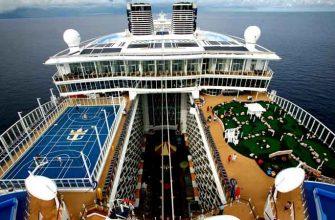 Как устроены два гигантских судна – Oasis of the Seas и Allure of the Seas
