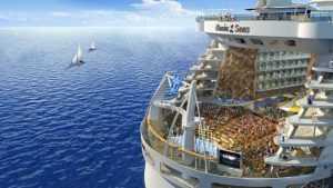Развлечения на борту Oasis of the Seas