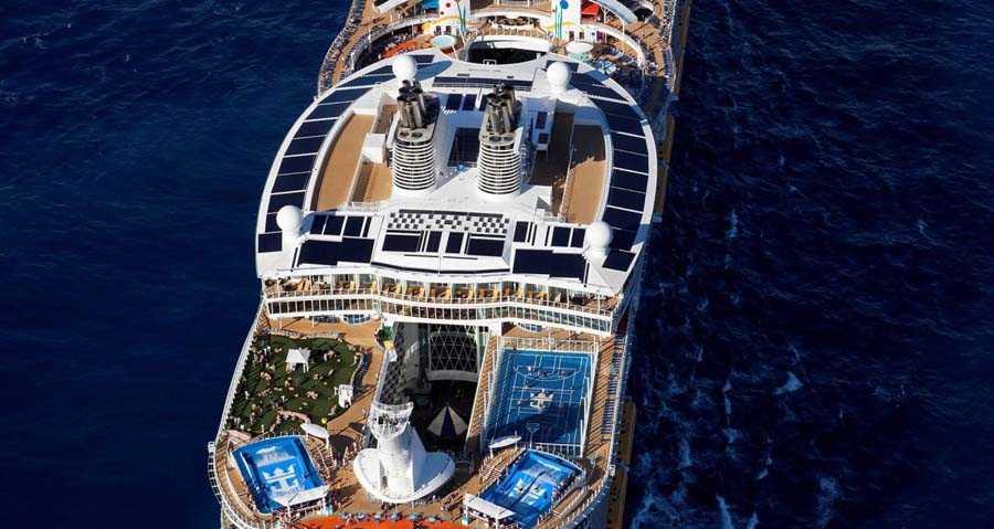 Внутреннее наполнение Allure of the Seas