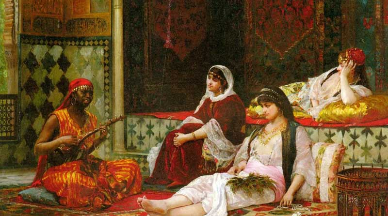 Наложницы султана Сулеймана