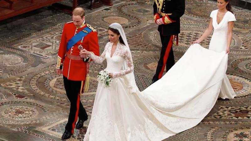 Долгожданная свадьба Кейт Миддлтон и принца Уильяма