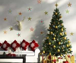 Украшение комнат на новый год