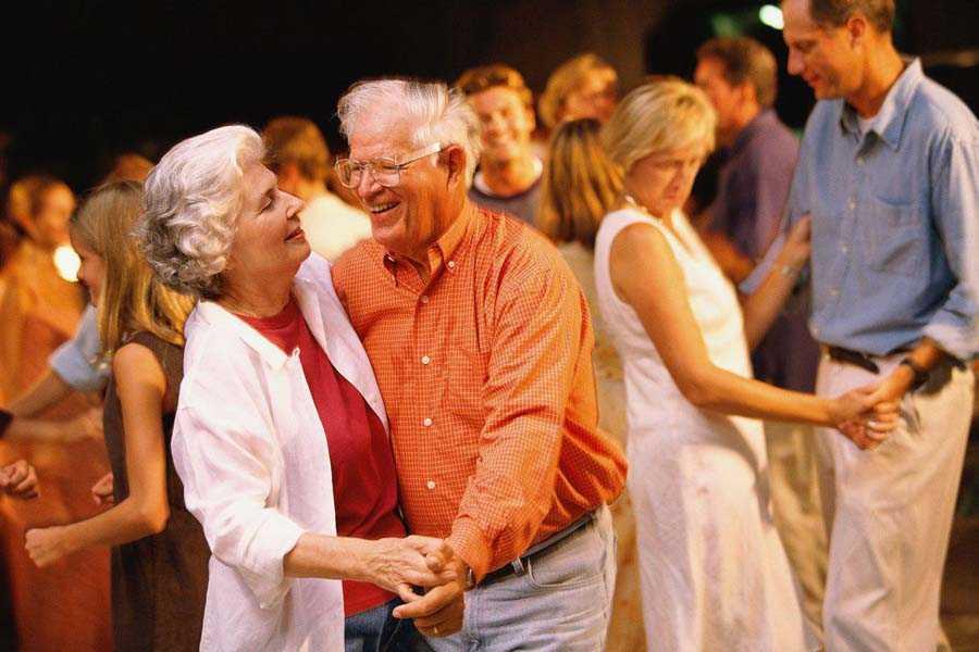 поиск любви пожилым людям Танцевальные площадки