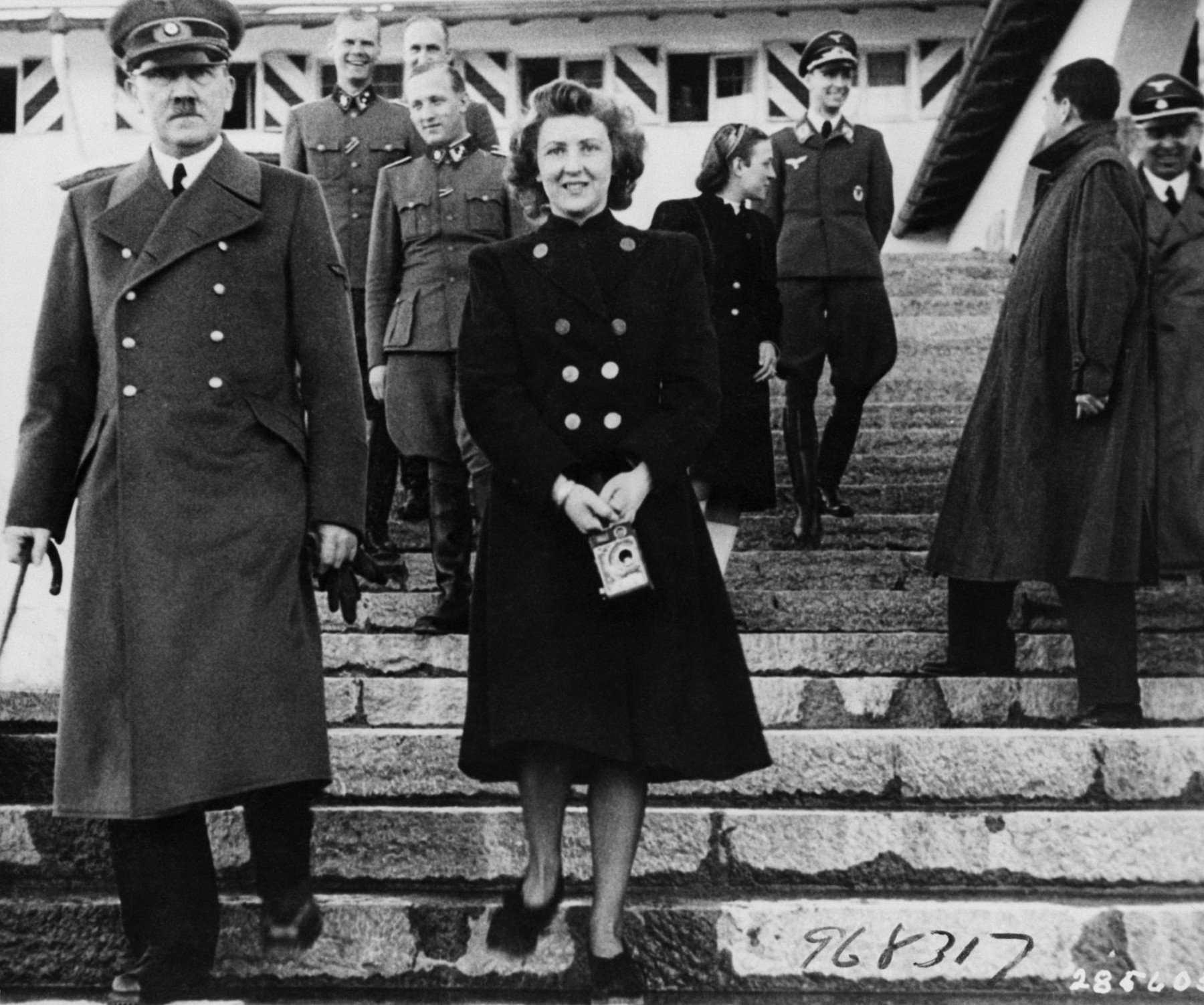 встреча Гитлера и Евы Анны Браун