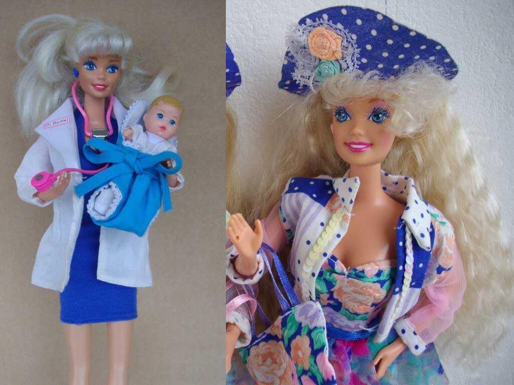 Барби 1981 — 1990 годы