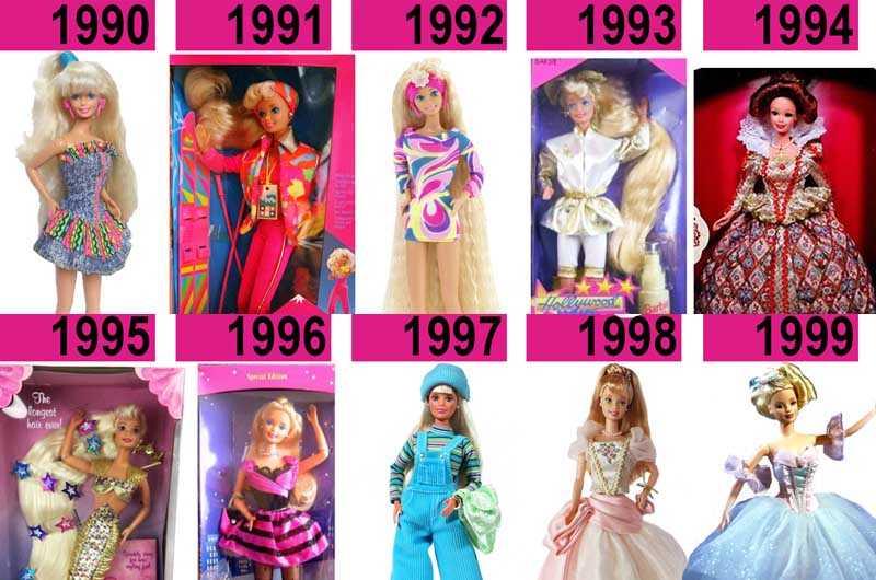 Барби 1991 — 2000 годы