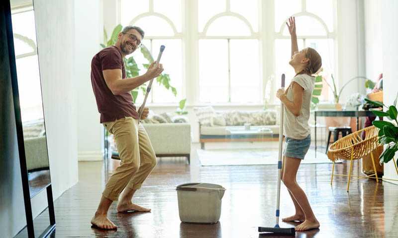 Уборка в доме как способ внести перемены в жизнь человека
