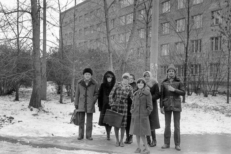 Нравы общежитий СССР