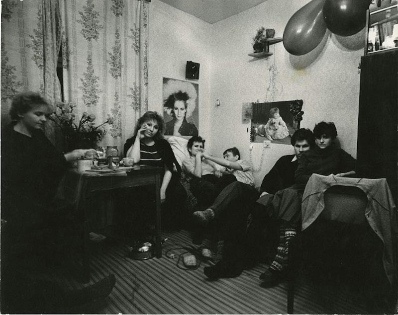 Быт и веселье общежития студентов СССР