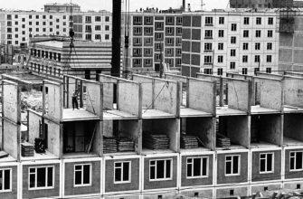 Причины строительства 5-ти и 9-тиэтажных домов в СССР