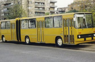 Автобус гармошка из СССР