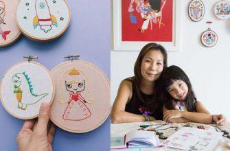Креативные мамы создают произведения искусства по рисункам своих дочек