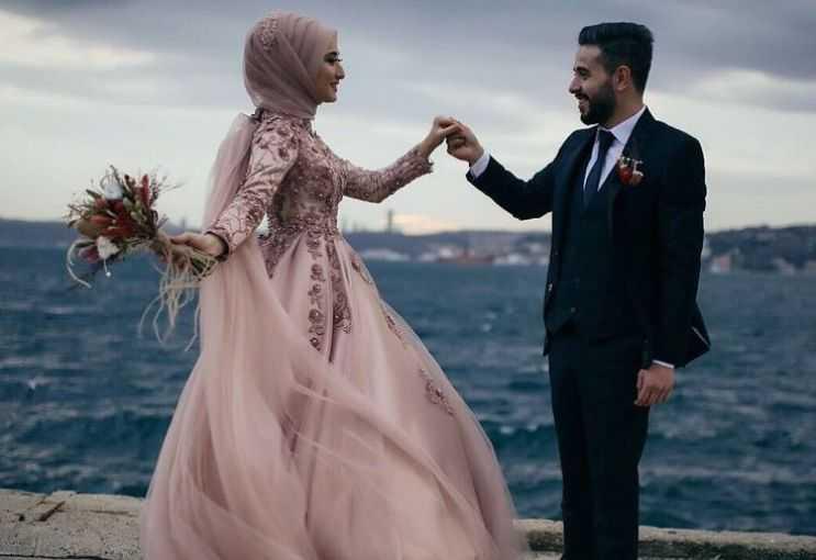 Жених и невеста мусульмане